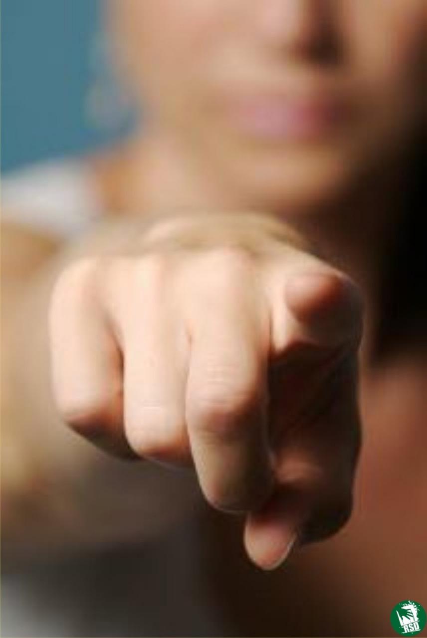 Apontar dedos