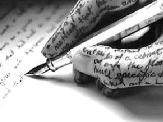 mão-escrevendo