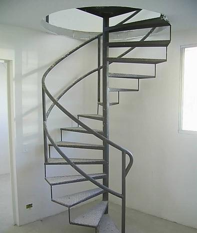 Escada espiral
