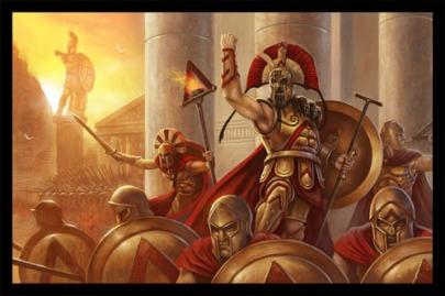Batalha grega 01
